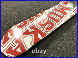 Vintage 2001 Shortys CHAD MUSKA Skateboard Deck SEALED NEW OLD STOCK Birdhouse