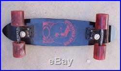 Vintage 70s Banzai Hot Skateboards Santa Cruz California Board Skateboard 23.5