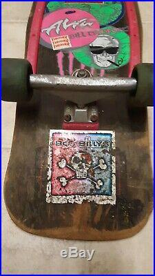 Vintage 80`s Alva Bill Danforth model complete skateboard