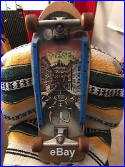 Vintage 80's Original DOGTOWN SKATES Eric Dressen Skateboard
