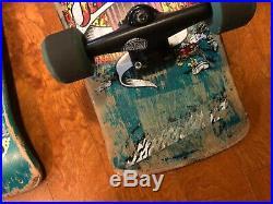 Vintage 80's Santa Cruz Jeff Grosso Demon skateboard