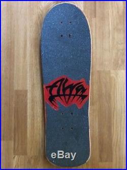 Vintage 80s Alva Minnow Team Skateboard Deck OG Rare