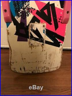 Vintage 80s Mark Gonzales Pro model Skateboard deck