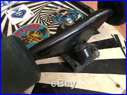 Vintage 80s OG Vision Gator Skateboard Deck Trucks Wheels NOS V1 Mark Rogowski