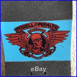Vintage 80s Powell Peralta Steve Caballero Skateboard Old School Thunder Trucks