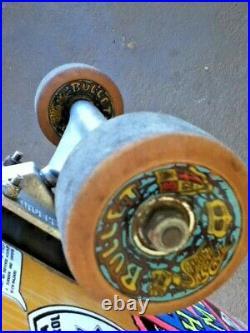 Vintage 80s SMA Steve Rocco Think Crime Felony complete skateboard Indy Bullets