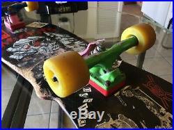 Vintage'85 Plan 9 Misfits Skateboard Pushead Eyeball Skull Cut Zorlac RARE