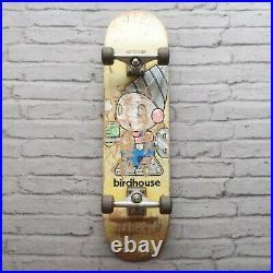 Vintage 90s Birdhouse Skateboard Complete Skate Early Independent Trucks