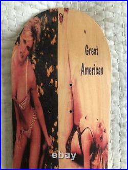 Vintage 94 NOS GAS Great American Skateboard Deck Jenny McCarthy 1994 Playboy