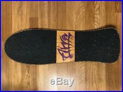 Vintage ALVA Fred Smith LOUD ONE lll Model Skateboard Deck Rare OG 80s Tri Tail