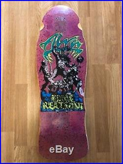 Vintage Alva Eddie Reategui Street Warrior Skateboard Deck 1988 OG Rare