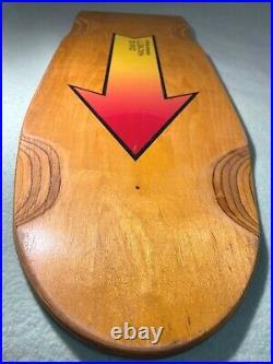 Vintage Arrow David Hackett Flat Pig Skateboard Dogtown G&s Sims