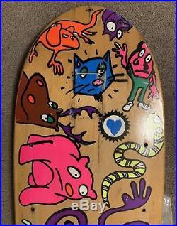 Vintage BLIND JASON LEE 1990 Skateboard Deck Silly Animals Vintage Rare OG