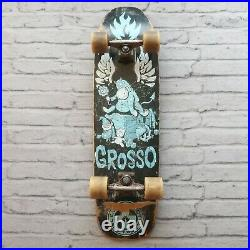 Vintage Black Label Emergency Jeff Grosso Donkey Skateboard Deck Skate