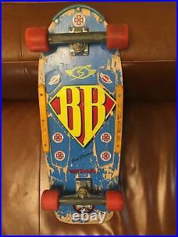 Vintage Brad Bowman Orginal 70s Skateboard / Hardware