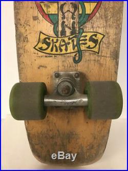 Vintage Dog Town skateboard, 1978. Jim Muir model