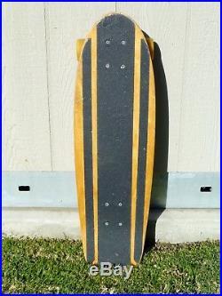 Vintage Dogtown Skates Red Dog Skateboard Tracker Alva ST Muir Skate Board DTS
