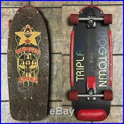 Vintage Dogtown Triplane Skateboard Original RARE 1970s Indy Stage II, Kryps