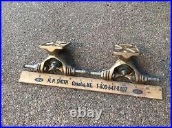 Vintage GULLWING H. P. G IV Skateboard Trucks old school 70s split axle 6.5 CallMe