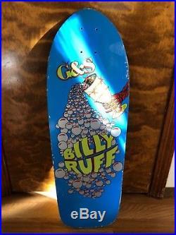 Vintage G&S Billy Ruff Chalice Skateboard Deck OG 1984 Rare