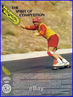 Vintage G&S FibreFlex Skateboard Henry Hester Slalom model LCB Skate Board