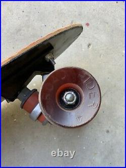 Vintage Gordon & Smith (G&S) Fibreflex Skateboard From Jamie Thomas