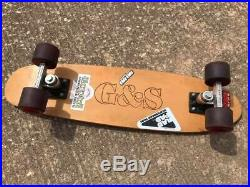 Vintage Gordon & Smith Warptail Skateboard Bennett Pro trucks, YoYo Pro Wheels