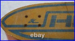 Vintage Hobie Hotdogger II Skateboard Circa 1970's ACS430 Trucks sidewalk surfer