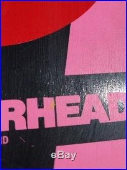 Vintage Hosoi Hammerhead Skateboard Pink! NOS Rare