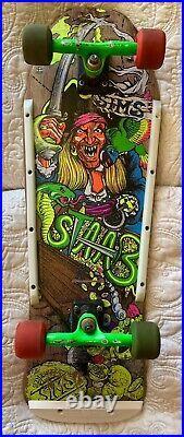 Vintage Kevin Staab Sims Pirate Complete Skateboard Santa Cruz