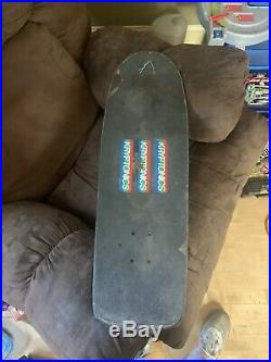 Vintage Kryptonics Fiber Foam Skateboard