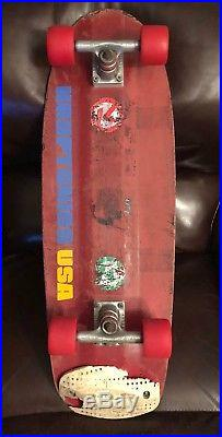 Vintage Kryptonics K-Beam Skateboard Late 70's