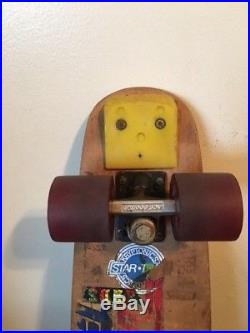 Vintage Late 1970s Caster Skateboard with ACS-500 Trucks