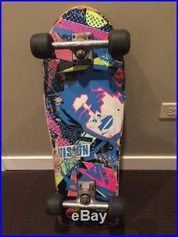 Vintage Mark Gonzales Skateboard OG Rare Black, Variflex Trucks & Wheels