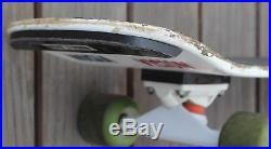 Vintage Mark Gonzales Vision Skateboard Deck Old School Tracker Trucks Shredder