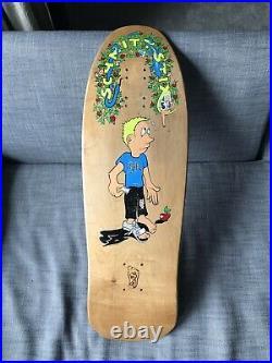 Vintage NOS 1990 Schmitt Stix Bryce Kanights Skateboard Deck Madrid Natas Lucero