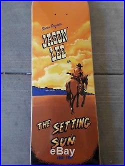 Vintage NOS 90s Jason Lee Stereo skateboard Very Rare Natas Blind Banky