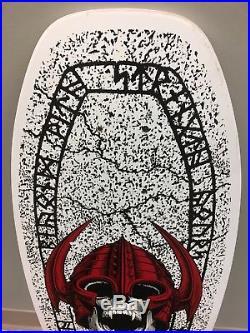 Vintage NOS Powell Peralta Per Welinder Nordic Skull Street skateboard deck