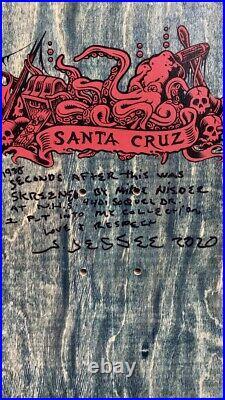 Vintage NOS Santa Cruz Jason Jessee Neptune From Jasons Personal Collection