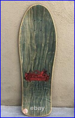 Vintage NOS Santa Cruz skateboards Jason Jessee Neptune From Jasons Collection