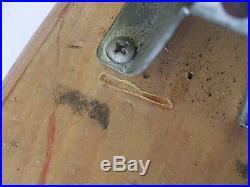 Vintage Nash Sidewalk Surfboard 10in Wooden Skateboard Lot Fifteen Toes