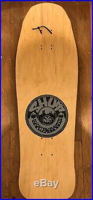 Vintage Nos 1990 shut street posse skateboard deck Powell Peralta Vision Alva