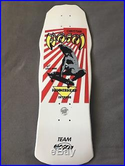 Vintage Nos Hosoi mini flags skateboard deck