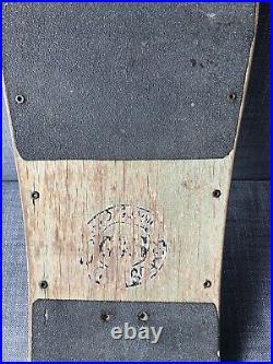 Vintage OG 1982 G&S Billy Ruff Skateboard Deck Hosoi Jeff Phillips Powell