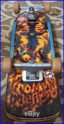 Vintage OG 1986 Powell Peralta Tommy Guerrero Pig Complete Skateboard Signed