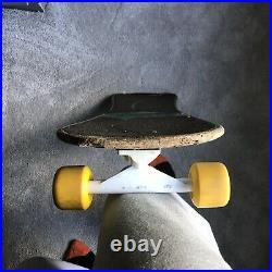 Vintage OG 1987 Santa Cruz Jeff Grosso Demon Complete Skateboard