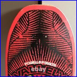 Vintage OG Mike Vallely powell peralta skateboard deck Rare Pink Dip Tony Hawk