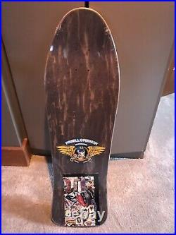 Vintage OG NOS Ray Barbee powell peralta skateboard deck Still In Shrink Wrap
