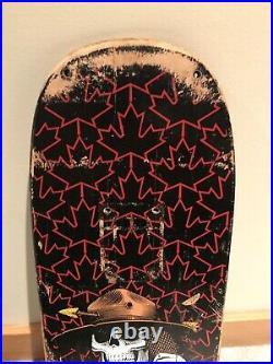 Vintage OG Powell Peralta Kevin Harris Freestlye skateboard deck Autographed