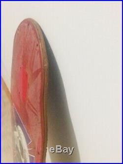 Vintage OG Powell Peralta Red Original 1980s Tony Hawk XT Skateboard Deck